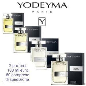 Dettagli su Profumo da uomo YODEYMA 100 ml 2 a scelta tutti i profumi yodeyma originali
