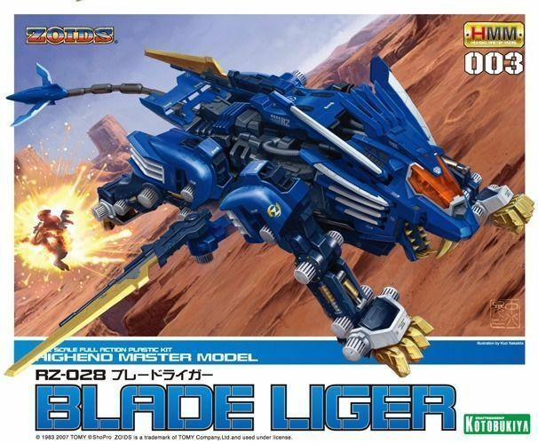 KOTOBUKIYA ZOIDS HMM 003 RZ-028 BLADE LIGER 1 72 Plastic Model Kit NEW Japan