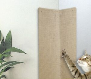 zero-Eck-Conseil-mur-de-scratch-Board-PLAN-MONTAGE-CARTE-CAT-Protection-sisal