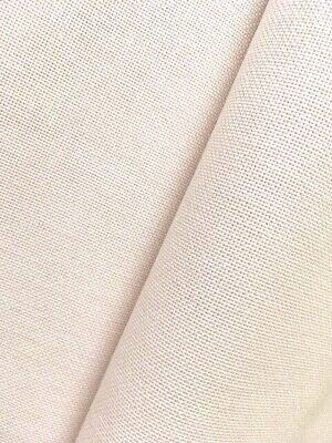 Murano Zweigart Iridescent snow pearl White 32 count various sizes 50 x 70 cm