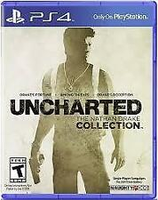 UNCHARTED THE NATHAN DRAKE COLLECTION PS4 GAME USED IN GOOD CONDITION