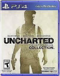 BRAND NEW SEALED UNCHARTED THE NATHAN DRAKE COLLECTION PS4 PLAYSTATION 4 GAME