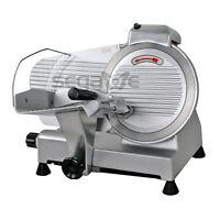 240w 10 Kitchen Deli Meat Slicer Electric 600rpm Cheese Food Slice Machine