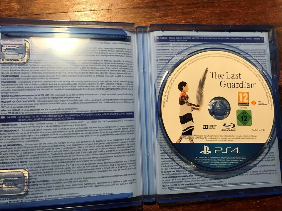 The Last Guardian, PS4, adventure