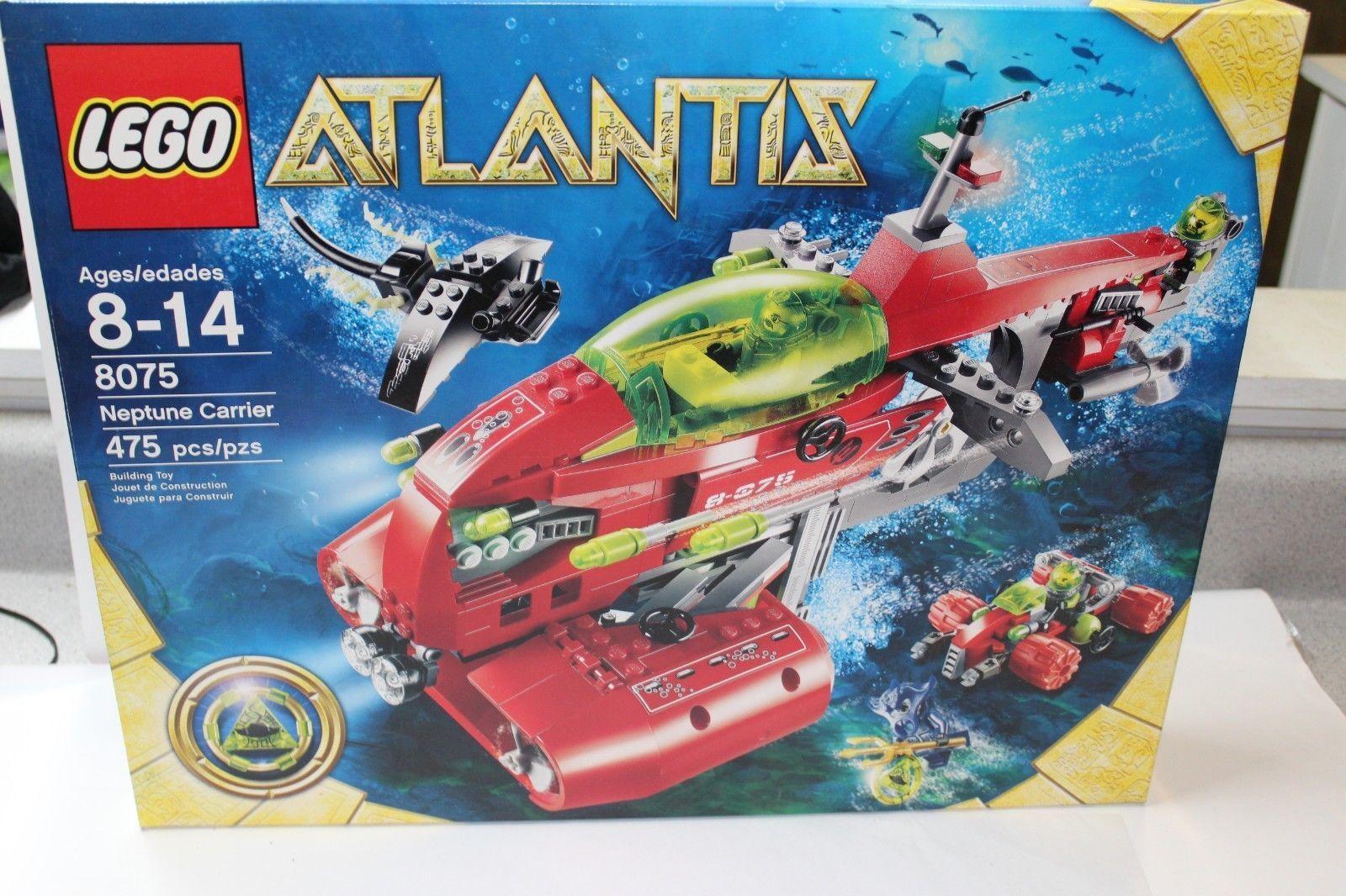 BRAND BRAND BRAND NEW IN BOX LEGO 8075 Atlantis Neptune Carrier  NIB 0cbbe9