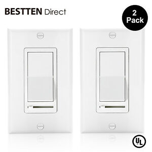 2-Pack-Dimmer-Switch-for-Dimmable-LED-Slide-Dimmer-Light-Switch-Decorator-On-Off