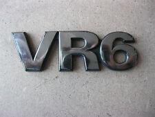 VR6 Emblem Zeichen VW Sharan Golf 3 Vento CHROM Schriftzug Logo