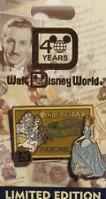 DISNEY WDW 40TH ANNIVERSARY CINDERELLA GOLDEN CAROUSEL HORSE LE 1500 PIN