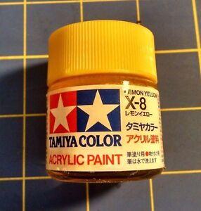 7353108cc96f Tamiya X-8 Lemon Yellow 23ml  81008 Acrylic Paint Ships from USA