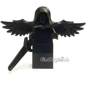 C110-Lego-Falling-Angel-Dark-Angel-Minifigure-with-Black-Grandsword-NEW