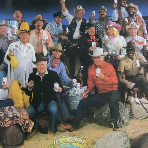Miller Lite beer All-Stars Poster TV Commercials Rodney Dangerfield Bob Uecker