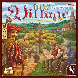 Pegasus-Spiele-My-Village-Brettspiel-NEU-board-game-NEW-Dorfchronik