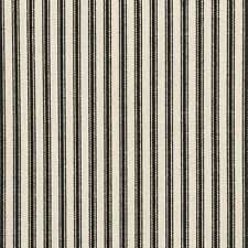 Ticking Fabric Cotton Fabric Black &White Striped Curtains Upholstery Fabric 54""