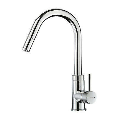 Methven Minimalist Gooseneck Kitchen Sink Mixer Pull Out Spray NEW MODEL