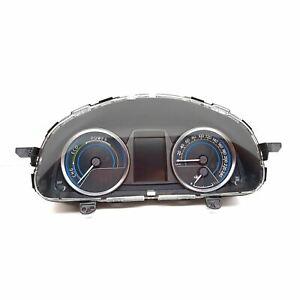 Toyota Auris Hybrid Km/H Compteur de Vitesse Instrument Cluster 83800-0ZW30