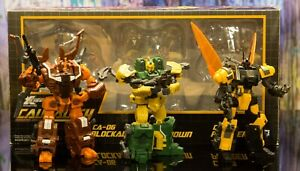 Transformers Fansproject Armored Battalion Genuine article complete.