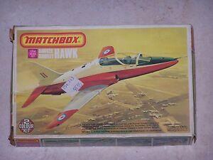 Maquette-MATCHBOX-1-72eme-HAWKER-SIDDELEY-HAWK-PK-27-1975
