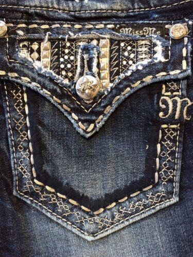 "Miss Me womens jeans JP6360B /""Metal Babe/"" MK399 Boot cut"