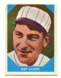 Details About 1960 Fleer Baseball Card 1 Napoleon Lajoie Philadelphia Cleveland Athletics Nap