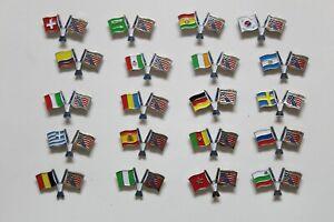 PIN'S Insignia FIFA WORLD CUP 1994 Estados Unidos MUNDIAL USA Banderas Futbol