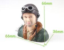 1/6, 1:6 WWII Pilot Figure L66xW36xH66mm US TH031-01708B