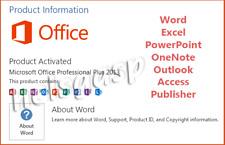 Microsoft Office 2013 Professional 32/64-bit Key