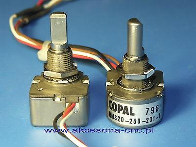 Rotary Encoder COPAL  RMS20-250-201-1   corresponding to New Yaesu Q9000833