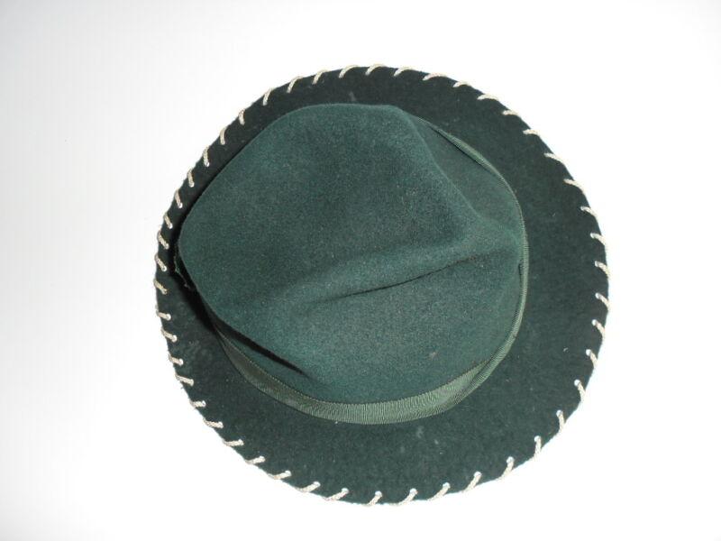 Hut Grün Antik Damen, Dachbodenfund, Vintage, Rarität, Sammler, Designer - Top!