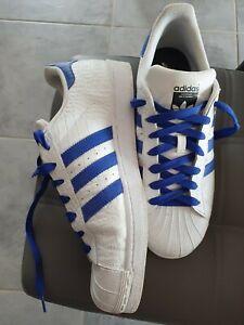 Détails sur Adidas Superstar Taille 44 9 12 (petit prix)
