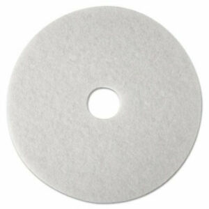 "3M TopLine Speed Burnish Pad 3200 17/"" 17 inch  White pad Burnisher Polishing"