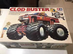 Tamiya-Vintage-Clod-Buster-Raro-Chevy-Bowtie-primera-adicion-Kit-no-5865