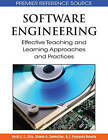 Software Engineering: Effective Teaching and Learning Approaches and Practices by IGI Global (Hardback, 2008)