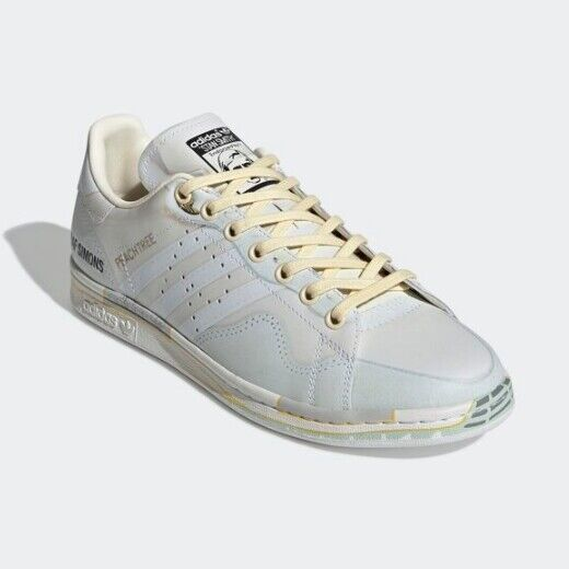 New Adidas Unisex Originals x Raf Simons RS Peach Stan Smith - Beige(EE7952)