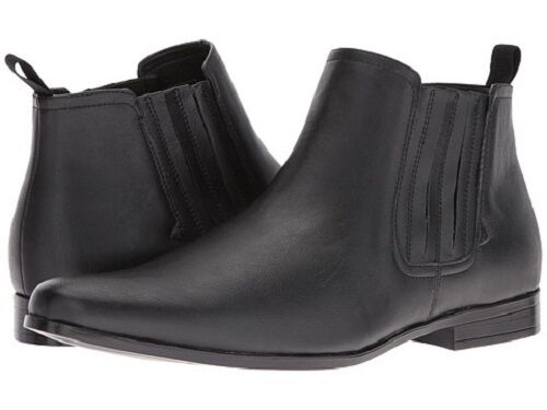 Brand New Guess Mens Garrison2 nero Leather Ankle avvio Sz 10M