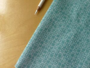 Moda-Road-15-Sweetwater-One-Way-Blue-Rain-Teal-5524-14-Half-Yard-Quilting-Fabric