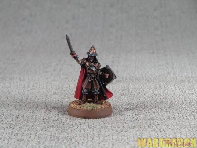 25 mm der hobbit wds gemalt captain dale 189
