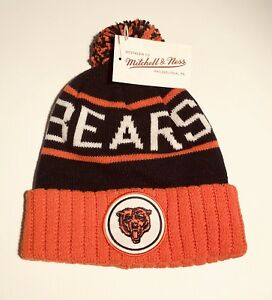 Cuffed-knit-beanie-Mitchell-amp-ness-NFL-Bears-Team