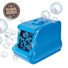 Global Gizmo Quality Portable Party & DJ Battery Operated Bubble Machine Blue