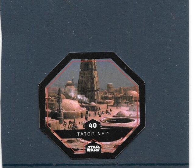 Token Collector 2015.STAR Wars (Leclerc) . Tatooine. N°40. COSMIC SHELLS