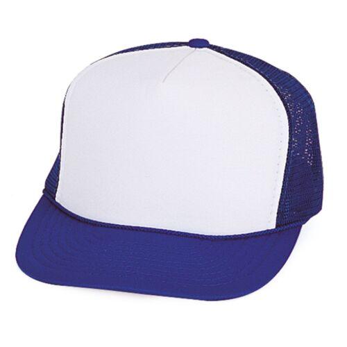 10 Pack Trucker Baseball Hats Caps Foam Mesh Blank Adult Youth Kids Wholesale