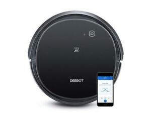 NEW Ecovacs DEEBOT 500 Robot Vacuum Cleaner With Max Power Suction Black
