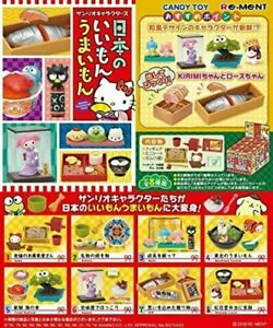 Re-Ment Miniature Sanrio Characters Mune Kyun Days Full Set 8 pcs 2019 Nostalgic