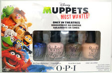 OPI Muppets Most Wanted Mini Nail Lacquers Polish 4pc Set .1/8oz NEW fast ship