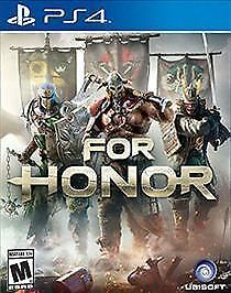 For Honor PS4 Play Station 4 Brand New Factory Sealed - $16.07