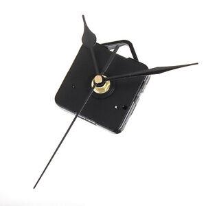 Wall-Quartz-Clock-Movement-Mechanism-Repair-DIY-Tool-Kit-Black-Hands-Hot