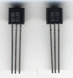 2 Transistors J-fet Appairés 2sk195 / 2 X Matched Transistors 2sk175 / Toshiba Redykgzz-07161521-914982423