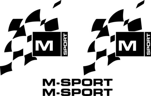 Transit custom m sport flag decal stickers ANY COLOUR with FREE GIFT