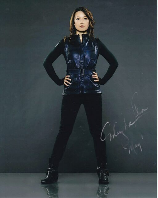 MING-NA WEN signed autographed AGENTS OF S.H.I.E.L.D. MELINDA MAY photo