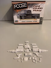 Revell 125 Foose Ford Fd 100 Pick Up Roush Racing Engine And Parts