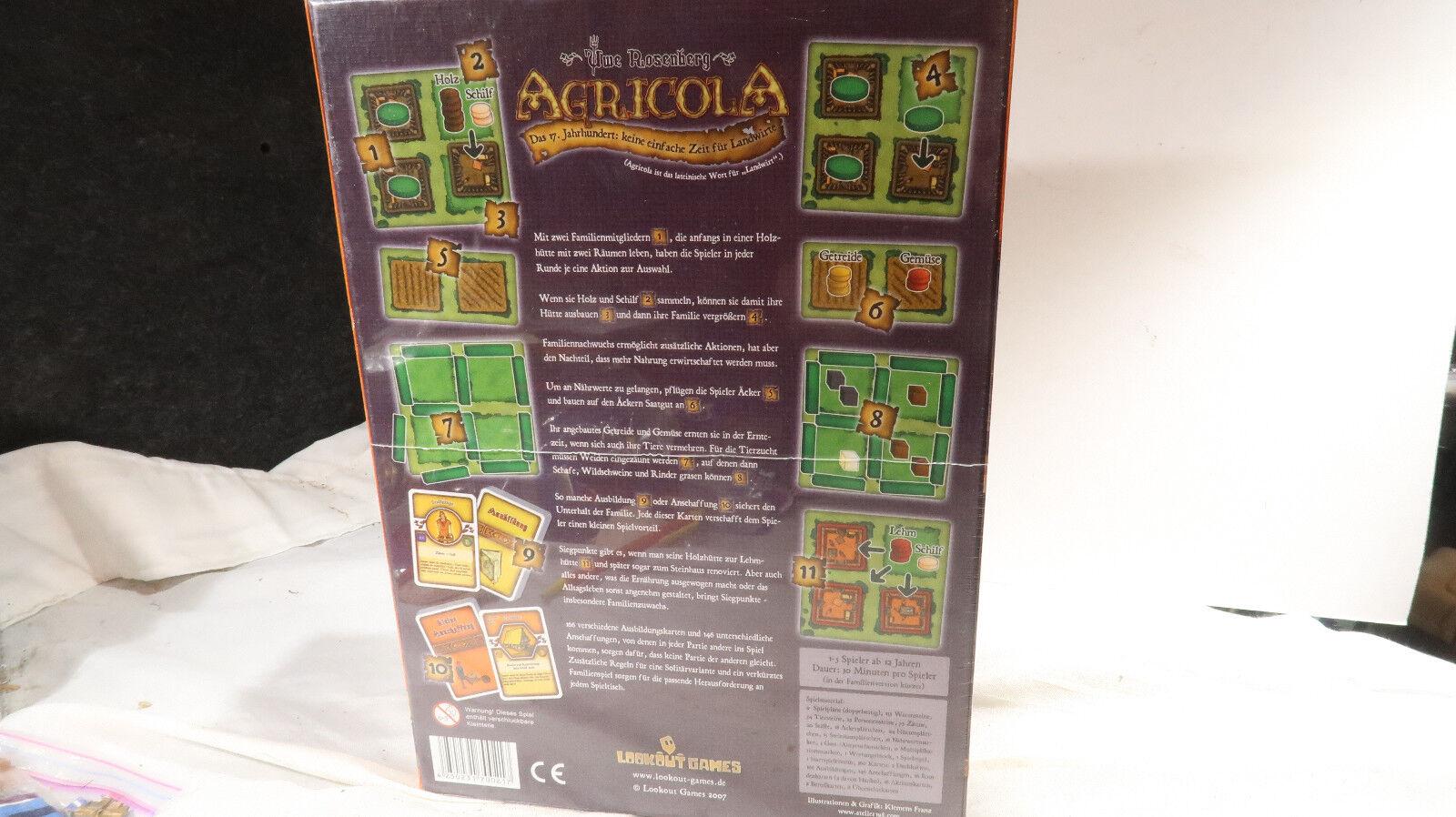 Lookout Games SEALED SEALED SEALED Uwe Rosenberg Agricola bf47db